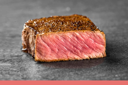 Boston Beef - Medium Rare Steak